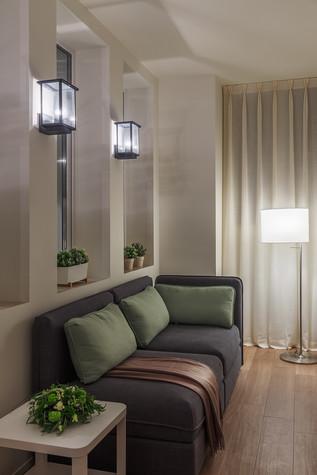 Квартира. прихожая из проекта Апартаменты на 1-м Зачатьевском переулке, фото №77171