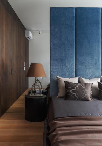 Квартира. спальня из проекта Апартаменты на 1-м Зачатьевском переулке, фото №77164
