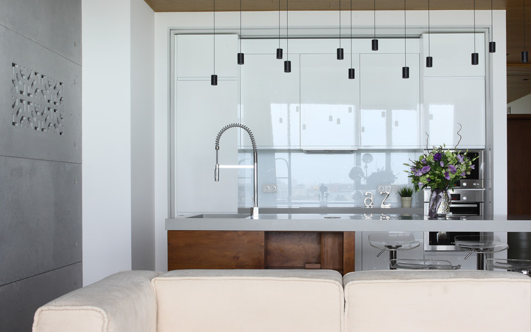 Квартира. кухня из проекта Апартаменты в ЖК Легенда Цветного, фото №77228