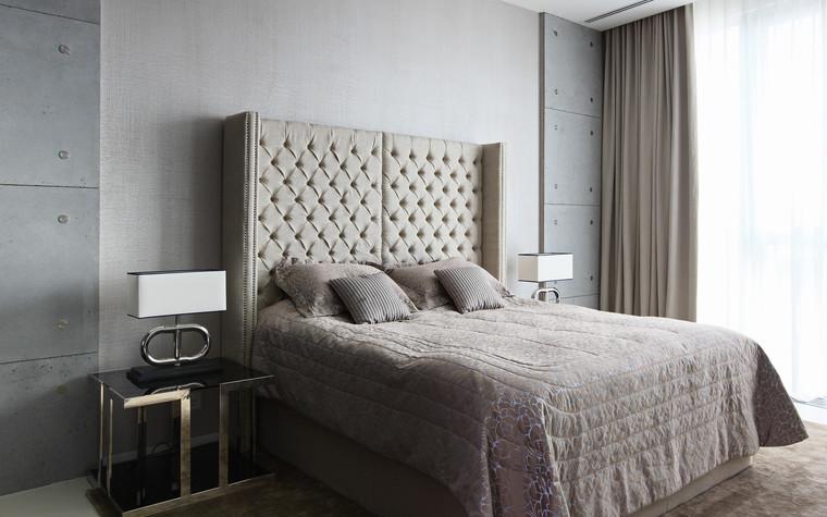 Квартира. спальня из проекта Апартаменты в ЖК Легенда Цветного, фото №77237