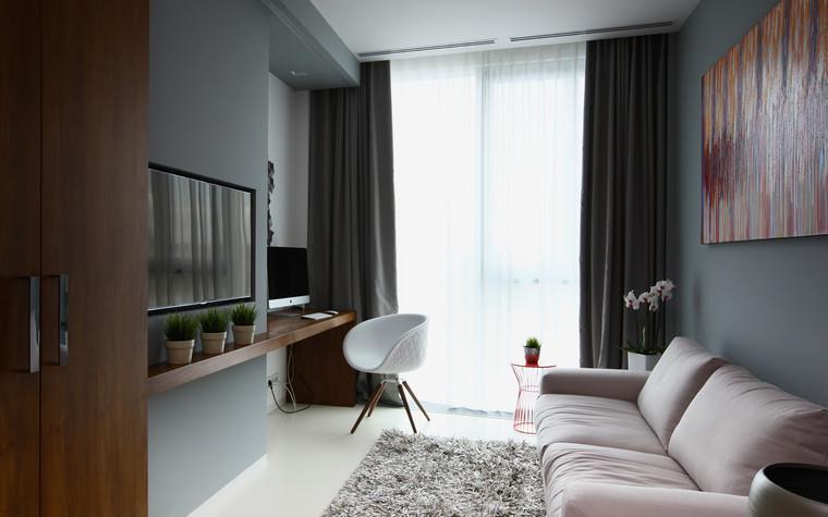 Квартира. кабинет из проекта Апартаменты в ЖК Легенда Цветного, фото №77241