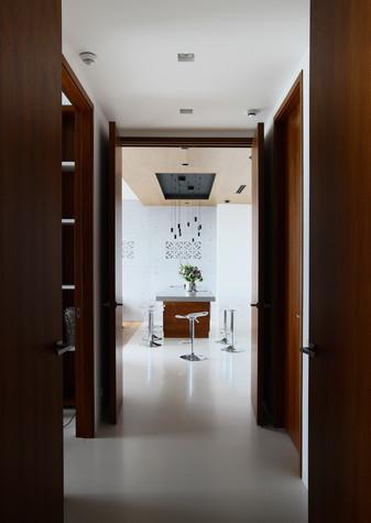 Квартира. коридор из проекта Апартаменты в ЖК Легенда Цветного, фото №77238