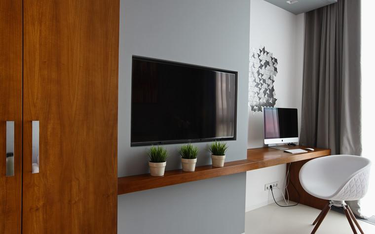 Квартира. кабинет из проекта Апартаменты в ЖК Легенда Цветного, фото №77242