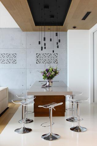 Квартира. кухня из проекта Апартаменты в ЖК Легенда Цветного, фото №77229