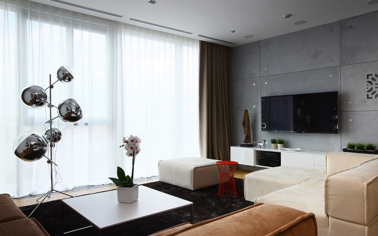 Примеры дизайна квартир-студий: фото интерьеров студии