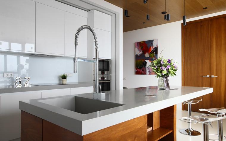 Квартира. кухня из проекта Апартаменты в ЖК Легенда Цветного, фото №77230