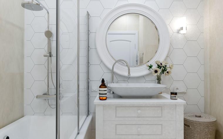 Квартира. ванная из проекта ЖК Царская Столица , фото №77411