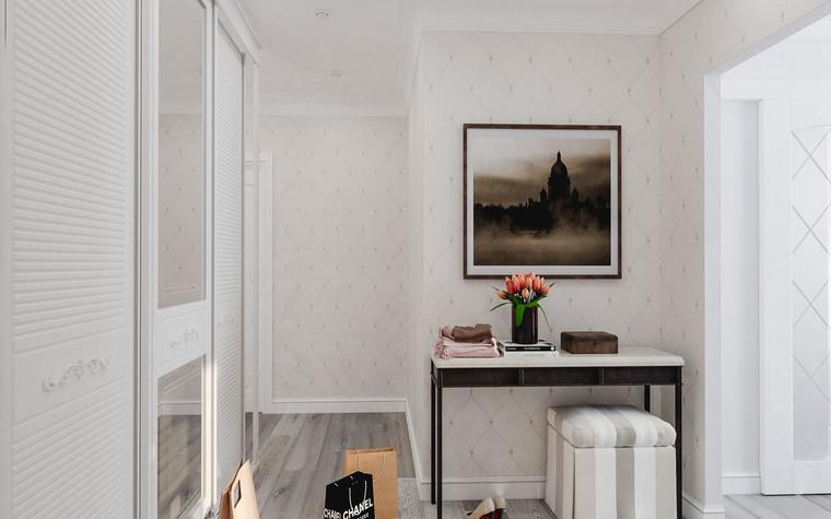 Квартира. прихожая из проекта ЖК Царская Столица , фото №77412
