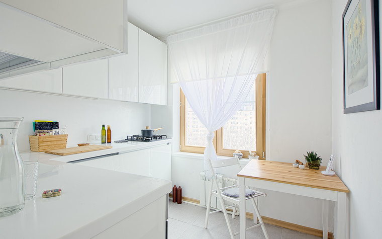 Квартира. кухня из проекта Профсоюзная улица. Москва., фото №78058