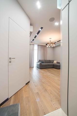 Квартира. гостиная из проекта Функциональный минимализм, фото №78209