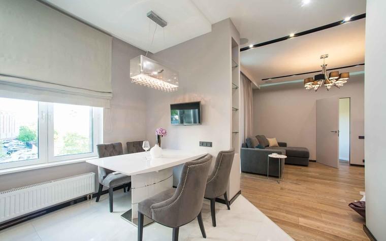Квартира. кухня из проекта Функциональный минимализм, фото №78218