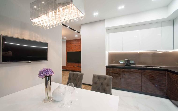 Квартира. кухня из проекта Функциональный минимализм, фото №78219