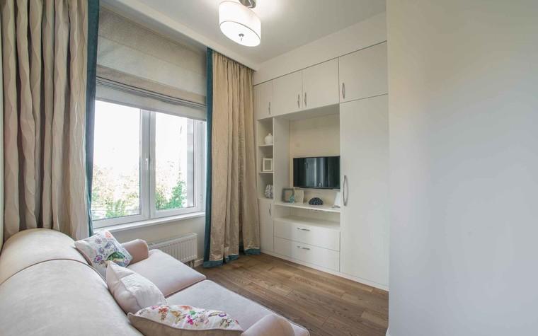 Квартира. спальня из проекта Функциональный минимализм, фото №78223