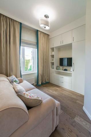 Квартира. спальня из проекта Функциональный минимализм, фото №78224