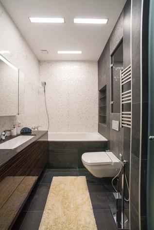 Квартира. ванная из проекта Функциональный минимализм, фото №78222