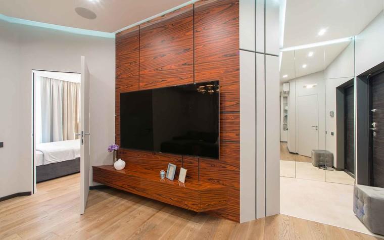 Квартира. гостиная из проекта Функциональный минимализм, фото №78210