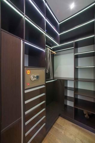 Квартира. спальня из проекта Функциональный минимализм, фото №78295