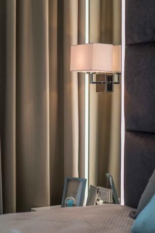 Квартира. спальня из проекта Функциональный минимализм, фото №78297