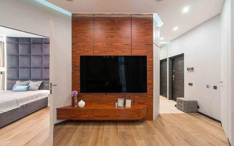Квартира. гостиная из проекта Функциональный минимализм, фото №78211