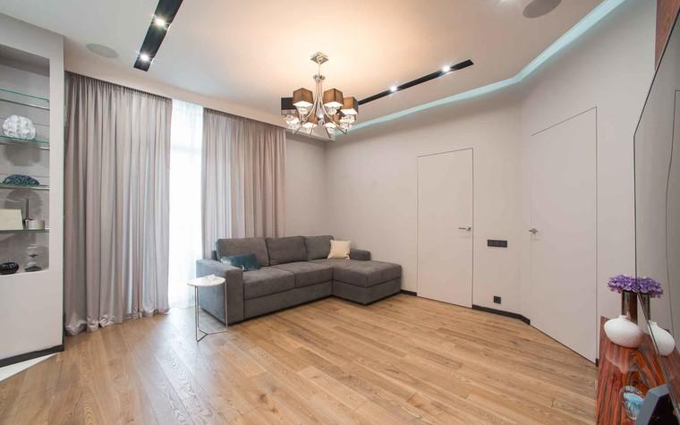 Квартира. гостиная из проекта Функциональный минимализм, фото №78213