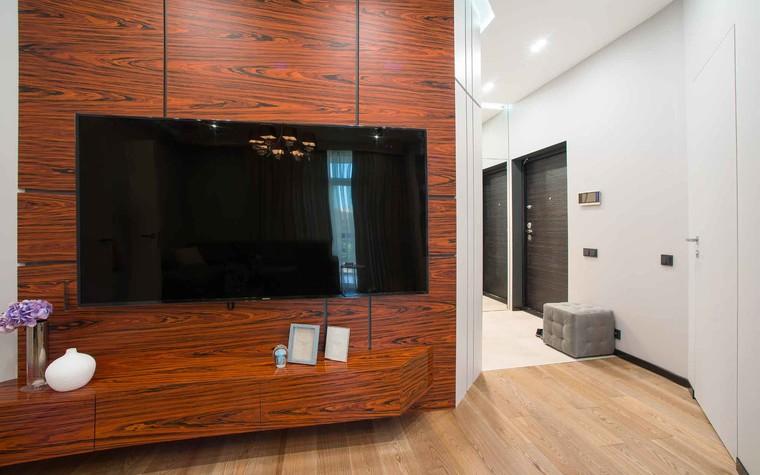 Квартира. гостиная из проекта Функциональный минимализм, фото №78214