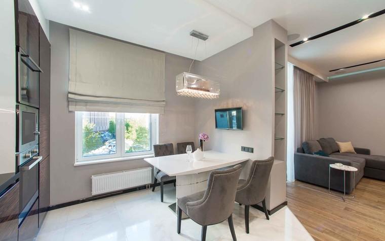 Квартира. кухня из проекта Функциональный минимализм, фото №78215