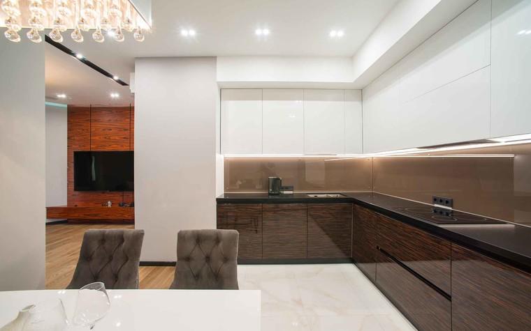 Квартира. кухня из проекта Функциональный минимализм, фото №78216