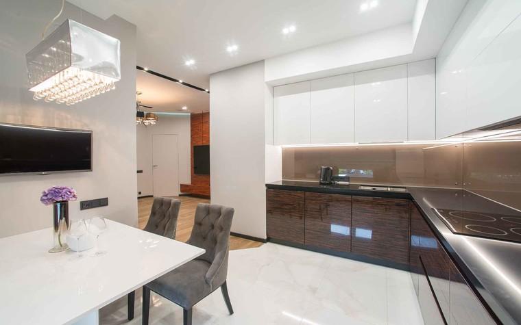 Квартира. кухня из проекта Функциональный минимализм, фото №78217