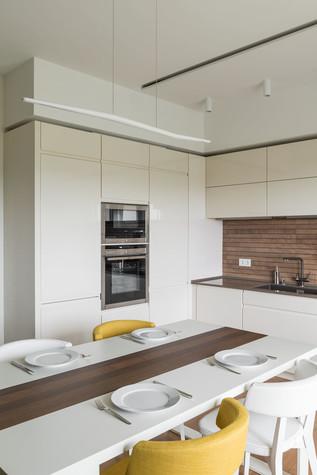 Квартира. кухня из проекта Green and Wood, фото №78804