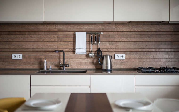 Квартира. кухня из проекта Green and Wood, фото №78808
