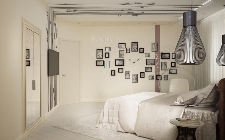 Квартира. спальня из проекта Квартира для большой семьи, фото №79049
