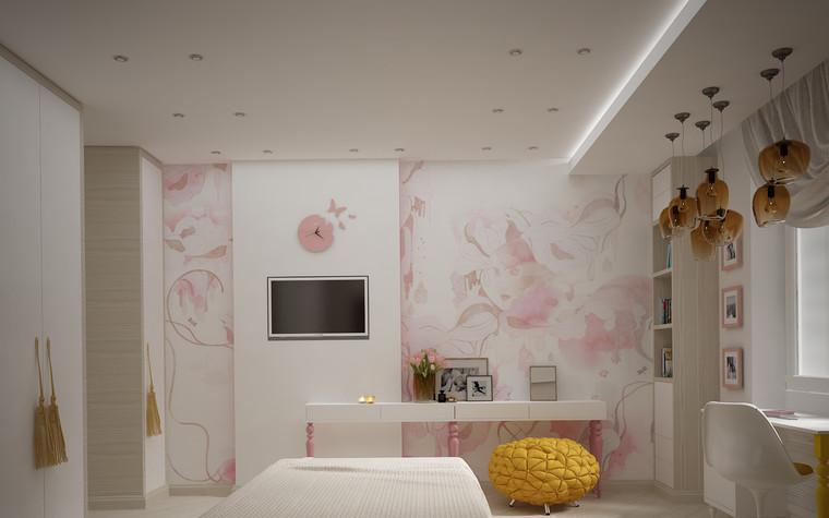 Квартира. спальня из проекта Квартира для большой семьи, фото №79055