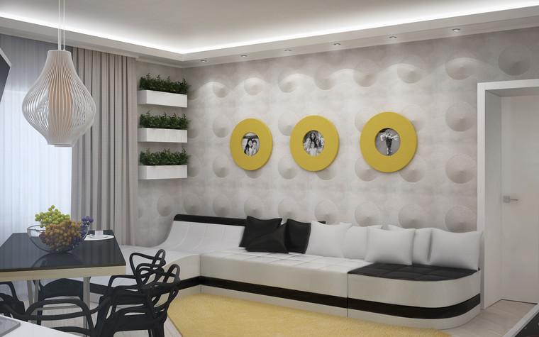 Квартира. гостиная из проекта Квартира для большой семьи, фото №79057
