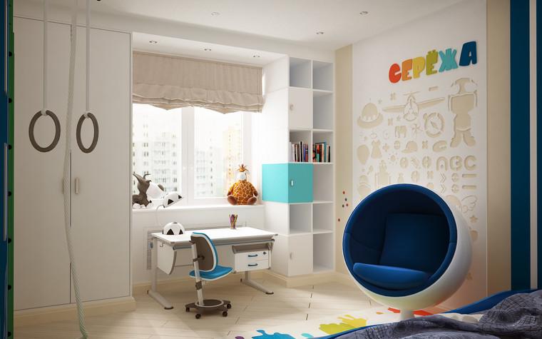 Квартира. детская из проекта Квартира для большой семьи, фото №79058