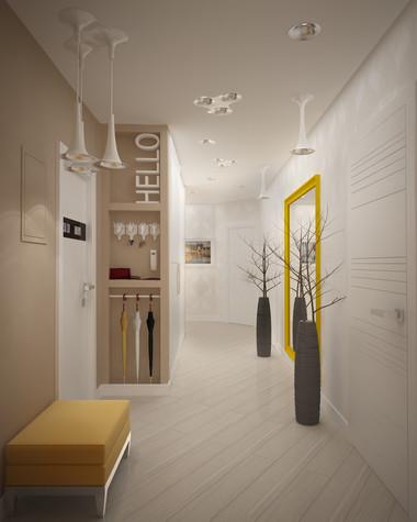 Квартира. прихожая из проекта Квартира для большой семьи, фото №79040