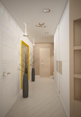 Квартира. коридор из проекта Квартира для большой семьи, фото №79044