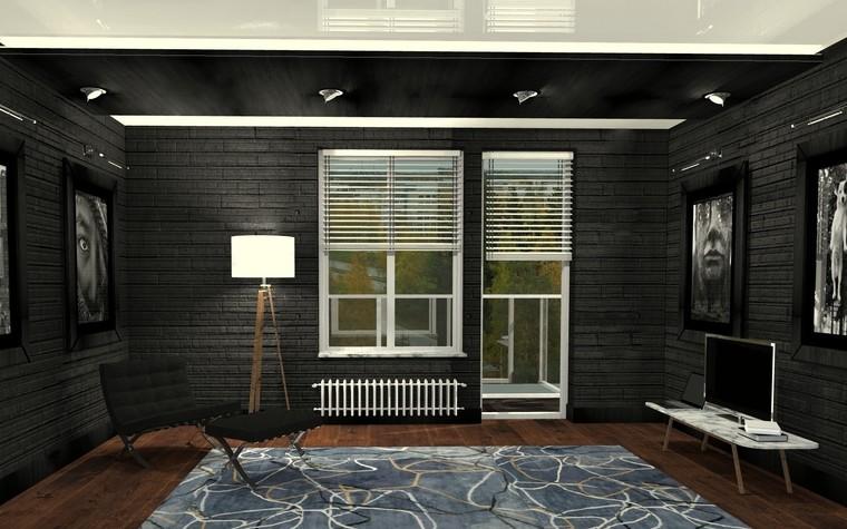 Квартира. комната отдыха из проекта Perfectly imperfect.  Скандинавия с чертами минимализма., фото №79184