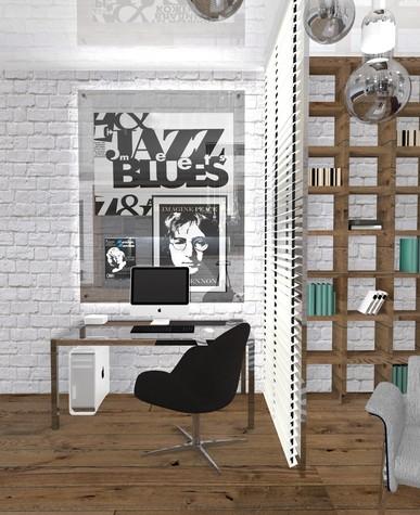 Квартира. гостиная из проекта Perfectly imperfect.  Скандинавия с чертами минимализма., фото №79179