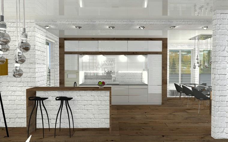 Квартира. гостиная из проекта Perfectly imperfect.  Скандинавия с чертами минимализма., фото №79182