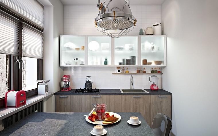 Квартира. кухня из проекта ИНДУСТРИЯ КОМФОРТА, фото №79390