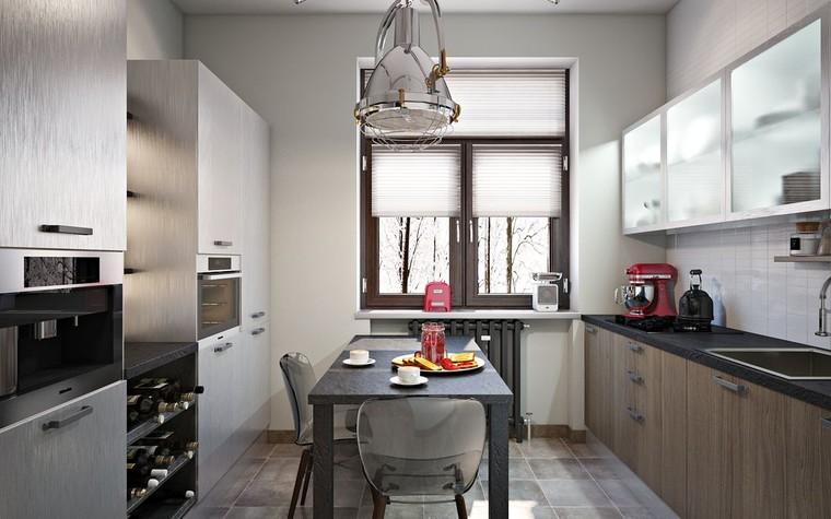 Квартира. кухня из проекта ИНДУСТРИЯ КОМФОРТА, фото №79392