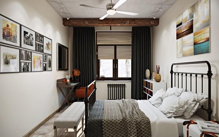 Квартира. спальня из проекта ИНДУСТРИЯ КОМФОРТА, фото №79400