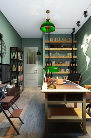 Квартира. кабинет из проекта ИНДУСТРИЯ КОМФОРТА, фото №79403