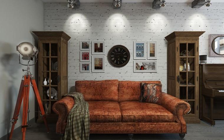 Квартира. гостиная из проекта ИНДУСТРИЯ КОМФОРТА, фото №79384