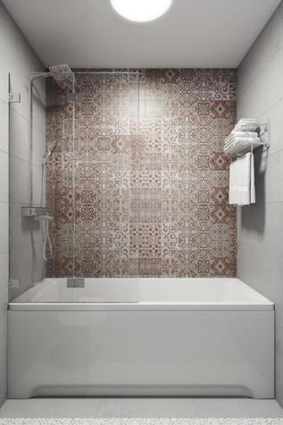 Квартира. ванная из проекта КРАСКИ ЖИЗНИ, фото №79447