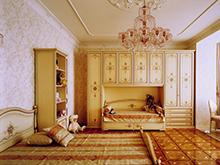Квартира «», детская . Фото № 276, автор Мирабель