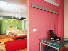 Квартира «», гостиная . Фото № 684