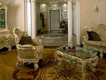 Квартира «», гостиная . Фото № 1847, автор Унгарова Екатерина