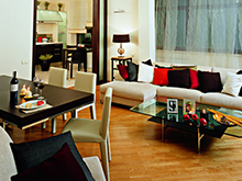 Квартира «», гостиная . Фото № 2065, автор Унгарова Екатерина