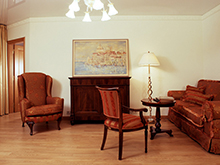 Квартира «», гостиная . Фото № 1424, автор Зорина Елена